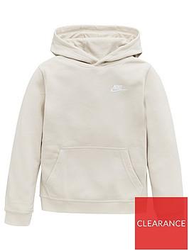 nike-boys-sportswearnbspclub-pullover-hoodie-brown