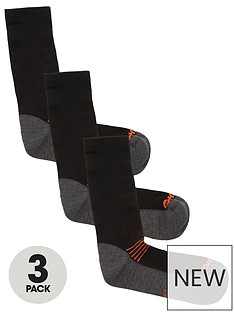 hi-tec-altitude-hike-socks-3-pack-blackorangenbsp