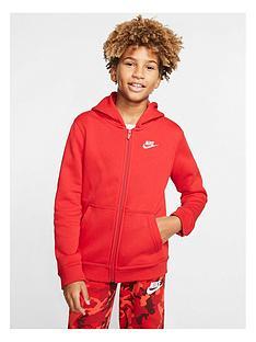 nike-boys-hoodie-full-zip-club-jacket-red
