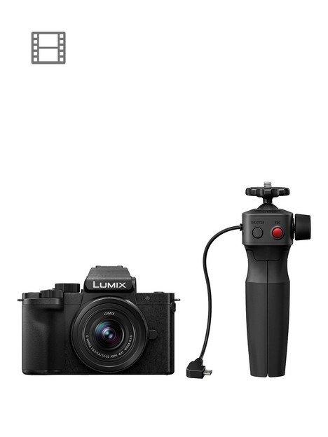 panasonic-lumix-g100-vlogging-camera-with-lumix-g-vario-12-32mm-f35-56-and-shgr1-tripod-grip
