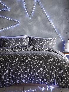 silentnight-stars-brushed-cotton-duvet-cover-set