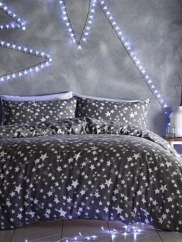 silentnight-stars-brushed-cotton-duvet-cover-set