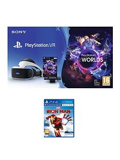 playstation-vr-starter-pack-with-marvel-iron-man-vr-amp-optionalnbspmove-controller