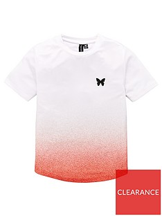 good-for-nothing-boys-speckle-fade-short-sleeve-t-shirt-red