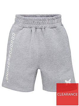 good-for-nothing-boys-large-logo-jog-shorts-grey