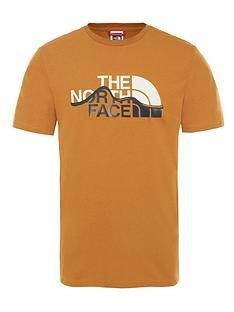 the-north-face-mountain-line-t-shirt-tan