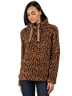 regatta-hannelore-fleece-top-leopard-print