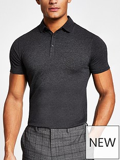 river-island-essential-muscle-fit-polo