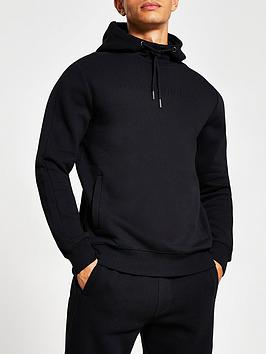 river-island-embossed-logo-hoodie-black