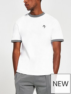 river-island-herringbone-ringer-t-shirt-white
