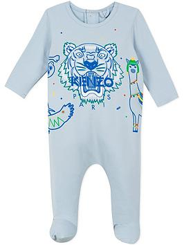 kenzo-baby-boys-tiger-jersey-babygrow-blue