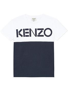 kenzo-boys-short-sleeve-colourblock-t-shirt-whitenavy