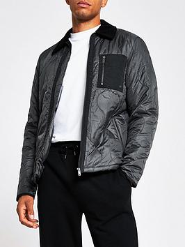 river-island-onion-quilted-harrington-jacket-dark-grey