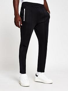river-island-tipped-jogger-black