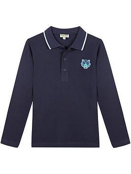 kenzo-boys-classic-long-sleeve-polo-t-shirt--nbspnavy