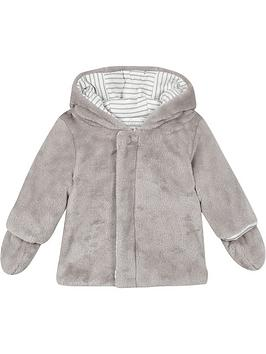 absorba-baby-faux-fur-coat-with-mittens