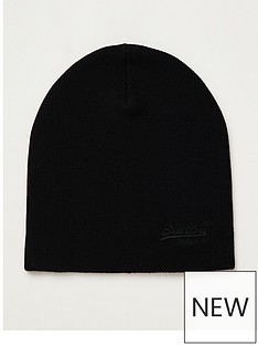 superdry-orange-label-beanie-black