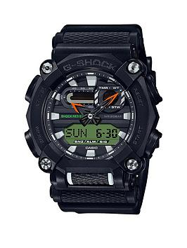 casio-casio-g-shock-super-illuminator-200m-water-resistant-black-dial-black-silicone-strap-mens-watch-with-extra-hi-vis-strap