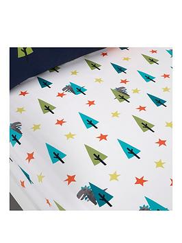 Cosatto Fitted Bed Sheets Cotbed Dragon Kingdom