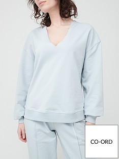 v-by-very-notch-neck-oversized-sweatshirt-light-blue
