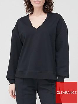 v-by-very-notch-neck-oversized-sweatshirt-black