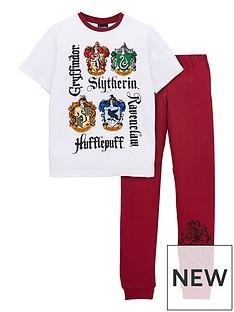 harry-potter-boys-harry-potter-houses-short-sleeve-pjs-white