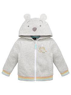 winnie-the-pooh-kids-unisex-disney-winnie-the-pooh-zip-through-hoodie-with-ear-details