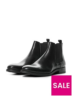 jack-jones-jason-leather-chelsea-boots