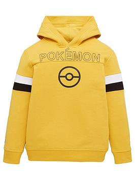 pokemon-boysnbspbadges-overhead-hoodie-yellow