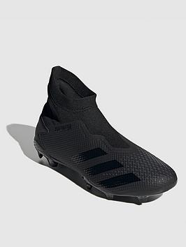 adidas-predator-laceless-203-firm-ground-football-boots-black