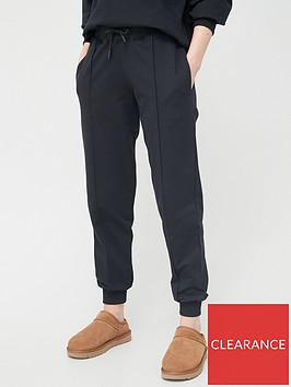 v-by-very-seam-detail-oversized-jogger-black