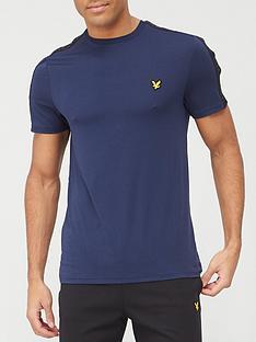 lyle-scott-fitness-lyle-amp-scott-tape-stretch-t-shirt