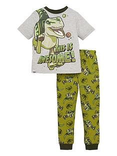 jurassic-park-boys-jurassic-world-this-is-awesome-pjs-with-dino-details-greygreen