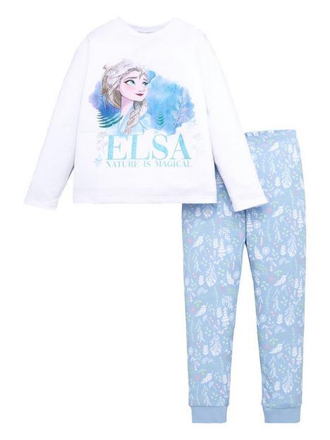 disney-frozen-girls-disney-frozen-elsa-glitter-print-long-sleeve-pjs-white