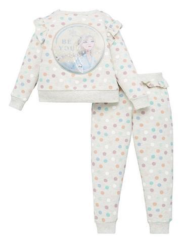 Disney Frozen 2 Sock Set ~ Size 4-6 Elsa Pink Pattern, Anna Pink Stripes