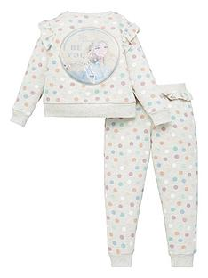 disney-frozen-girlsnbsp2-piece-elsa-tracksuit-with-sequin-detail-multi