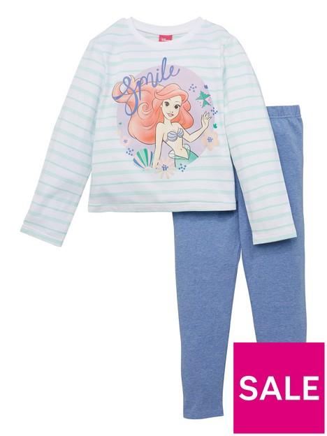 disney-princess-girls-disney-princess-2-piece-stripe-ariel-and-legging-set