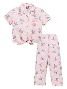 minnie-mouse-girls-disney-minnie-mouse-tie-front-shirt-pjs-pink