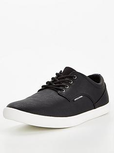 jack-jones-jack-jones-nimbus-faux-leather-plimsolls