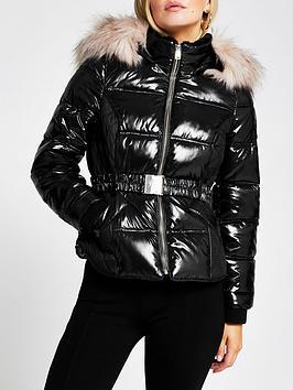 ri-petite-petite-fitted-padded-jacket-black