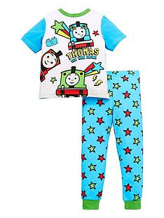 thomas-friends-boys-thomas-the-tank-engine-friends-short-sleeve-pjs-multi