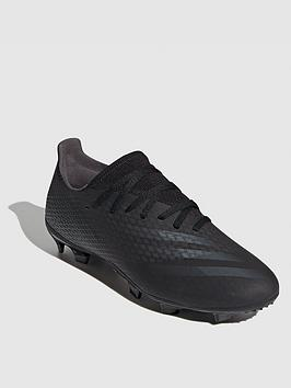 Adidas X Ghosted.3 Firm Ground Football Boots - Black