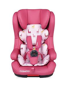 cosatto-hubbub-car-seat-group-123-llamrama