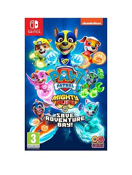 Nintendo Switch Paw Patrol Mighty Pups Save Adventure Bay! Switch