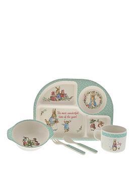 peter-rabbit-peter-rabbit-christmas-collection-bamboo-dinner-set