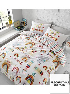 catherine-lansfield-be-a-rainbow-duvet-cover-set