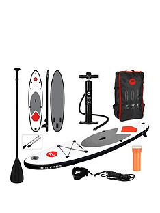 pure-4-fun-pure-305-sup-all-round-inflatable-stand-up-paddle-board-10-feet-complete-set-with-pump-patch-tool-foot-lead-adjustable-paddle-and-waterproof-2l-bag