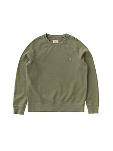 nudie-jeans-circle-logo-sweatshirt-green