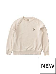nudie-jeans-circle-logo-sweatshirt-beigenbsp