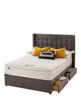 silentnight-isla-velvet-1000-pocket-pillowtop-divan-bed-with-headboard-and-storage-options